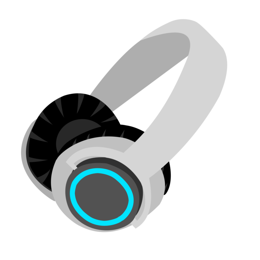 image freeuse library vector headphones cutie mark #107941466