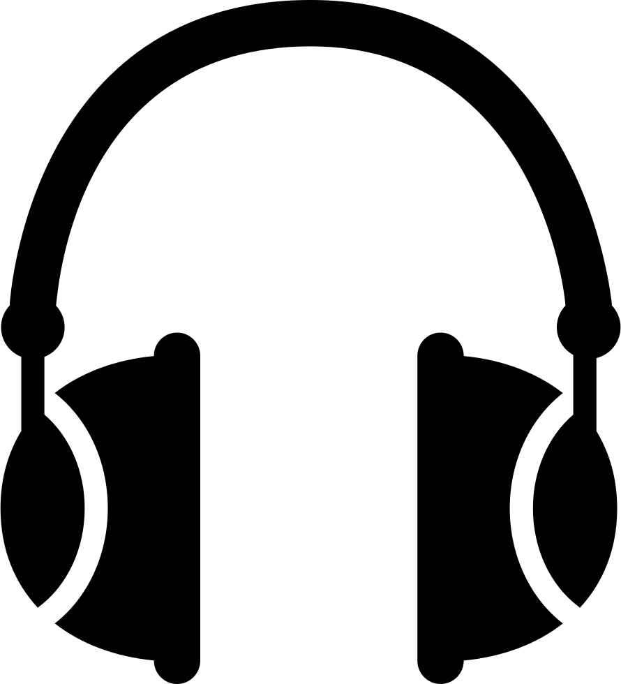 clipart freeuse download Music Headphones With White Details Svg Png Icon Free Download