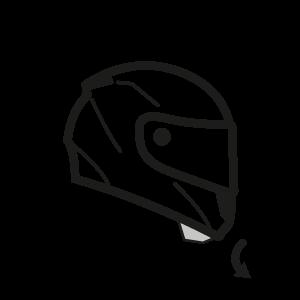 image vector helmet full face #107950637