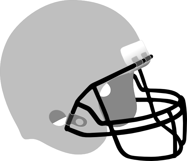 banner black and white library Football Helmet Clip Art at Clker