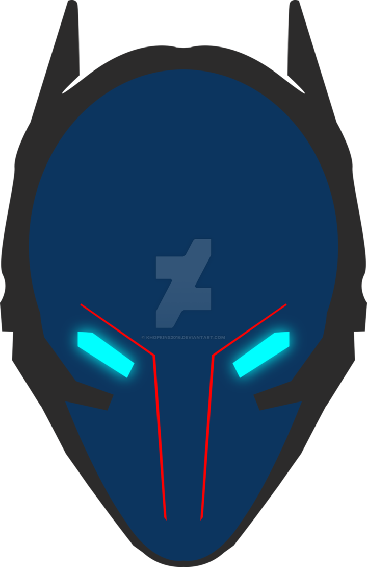 clip art free stock Arkham Knight Helmet Emblem by Khopkins