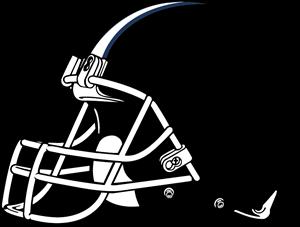 clip black and white download HELMET NFL Logo Vector