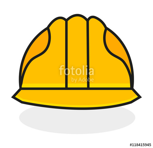 clip download Vector constructors helmet. Safety protection concept eps