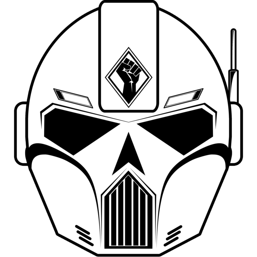 clipart library Skull Helmet by Helghast