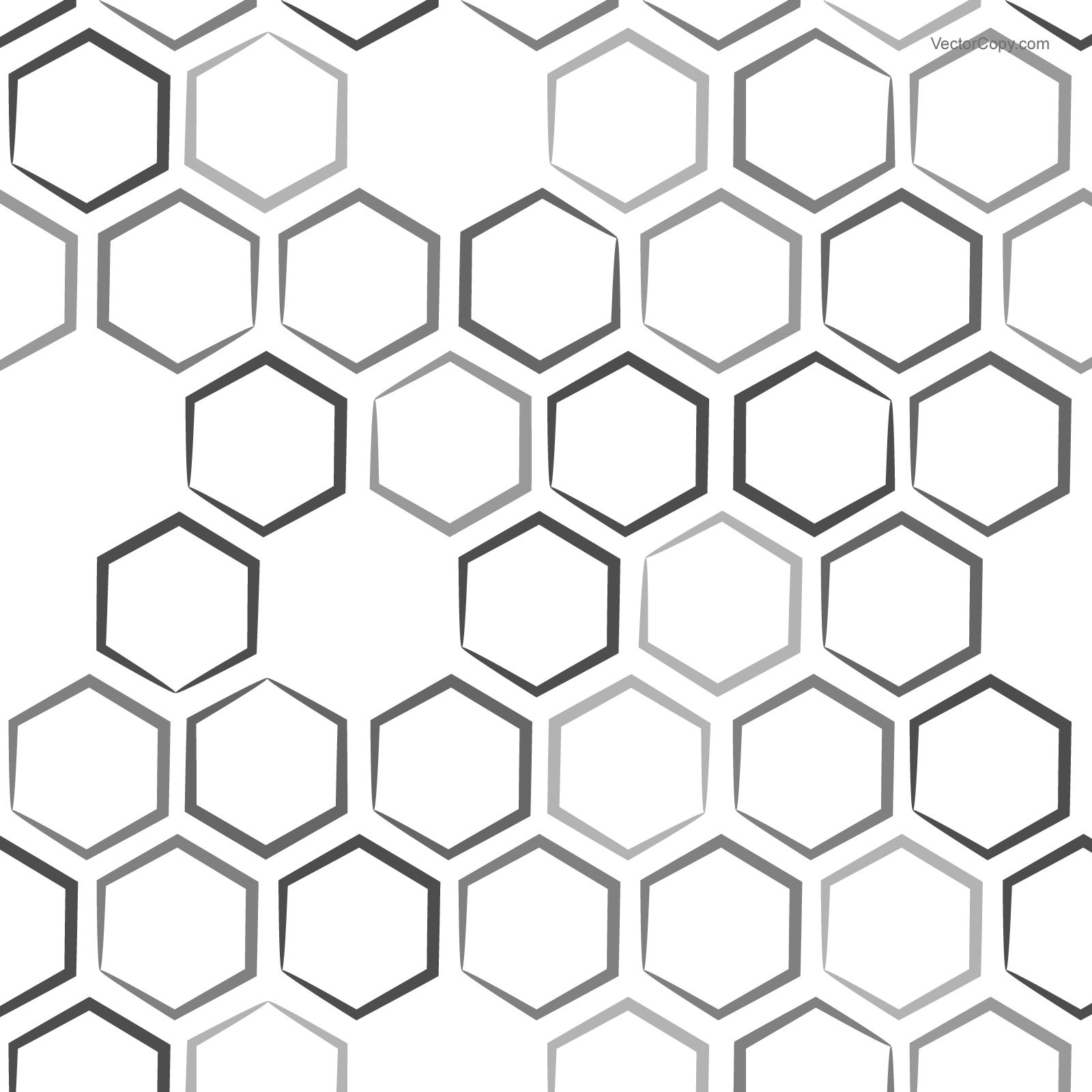 png library Vector hexagon. Honeycomb pattern free backgrounds.