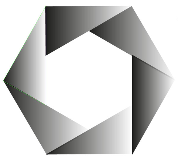 clip art transparent stock Put a hex on. Vector hexagon.