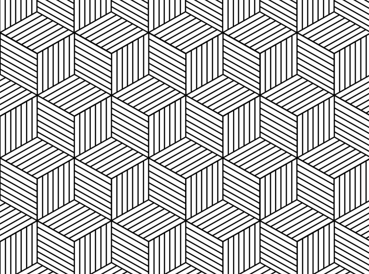 image royalty free download Hexagon Geometric Pattern