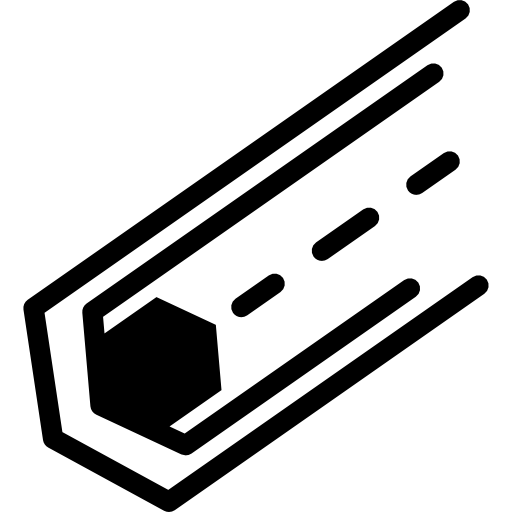 graphic freeuse library Electronic circuit with an hexagon