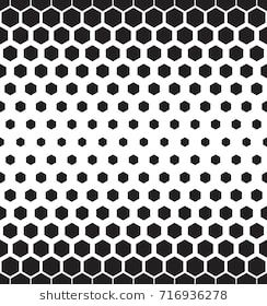 clip free library Abstract seamless pattern with. Vector hexagon gradient.