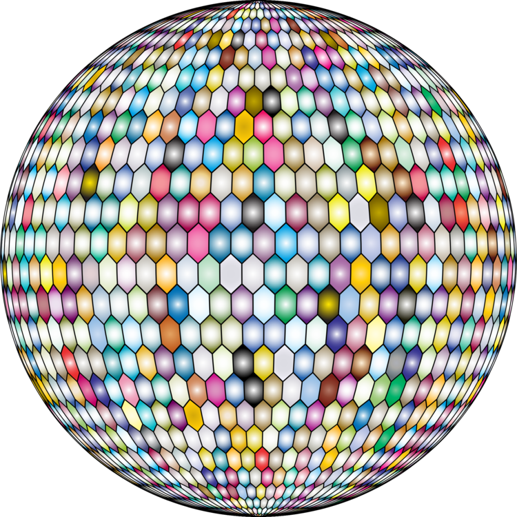 graphic library library Hexagonal tiling Sphere Hex map Geometry free commercial clipart