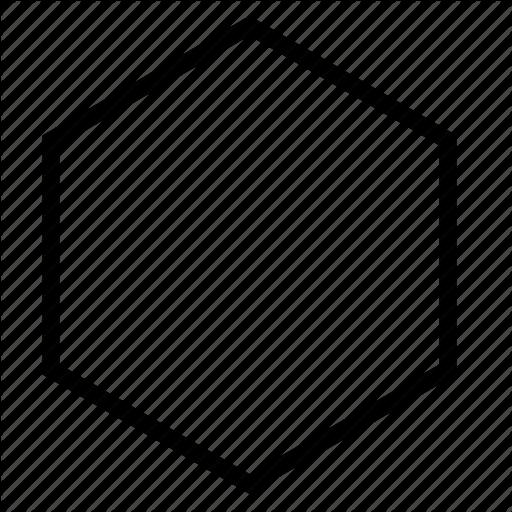 clip art free stock vector hexagon white #107963512