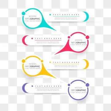 jpg free library Infographic presentation design business. Vector chart timeline