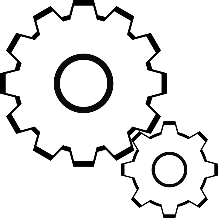 svg black and white download Collection of free Gears vector industrial