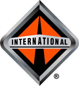 clipart library download Trucks logo eps free. Vector international.
