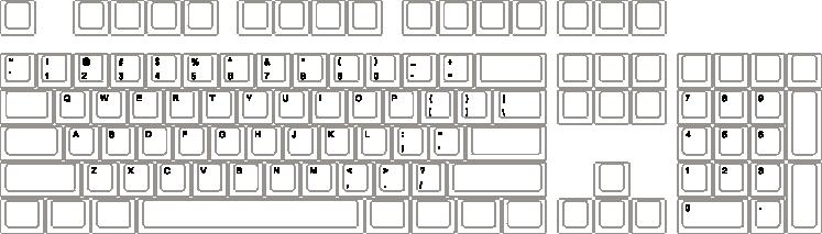 clip art library library WASD Keyboards WASD V