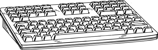 picture freeuse download Computer Keyboard Clip Art at Clker