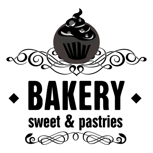 banner freeuse library Decorative bakery label