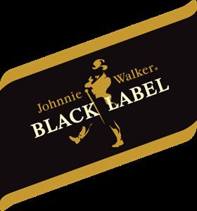 clipart transparent library Johnnie Walker Black Label Logo Vector