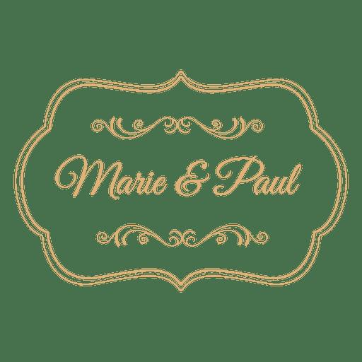 clip art transparent stock Wedding label decoration
