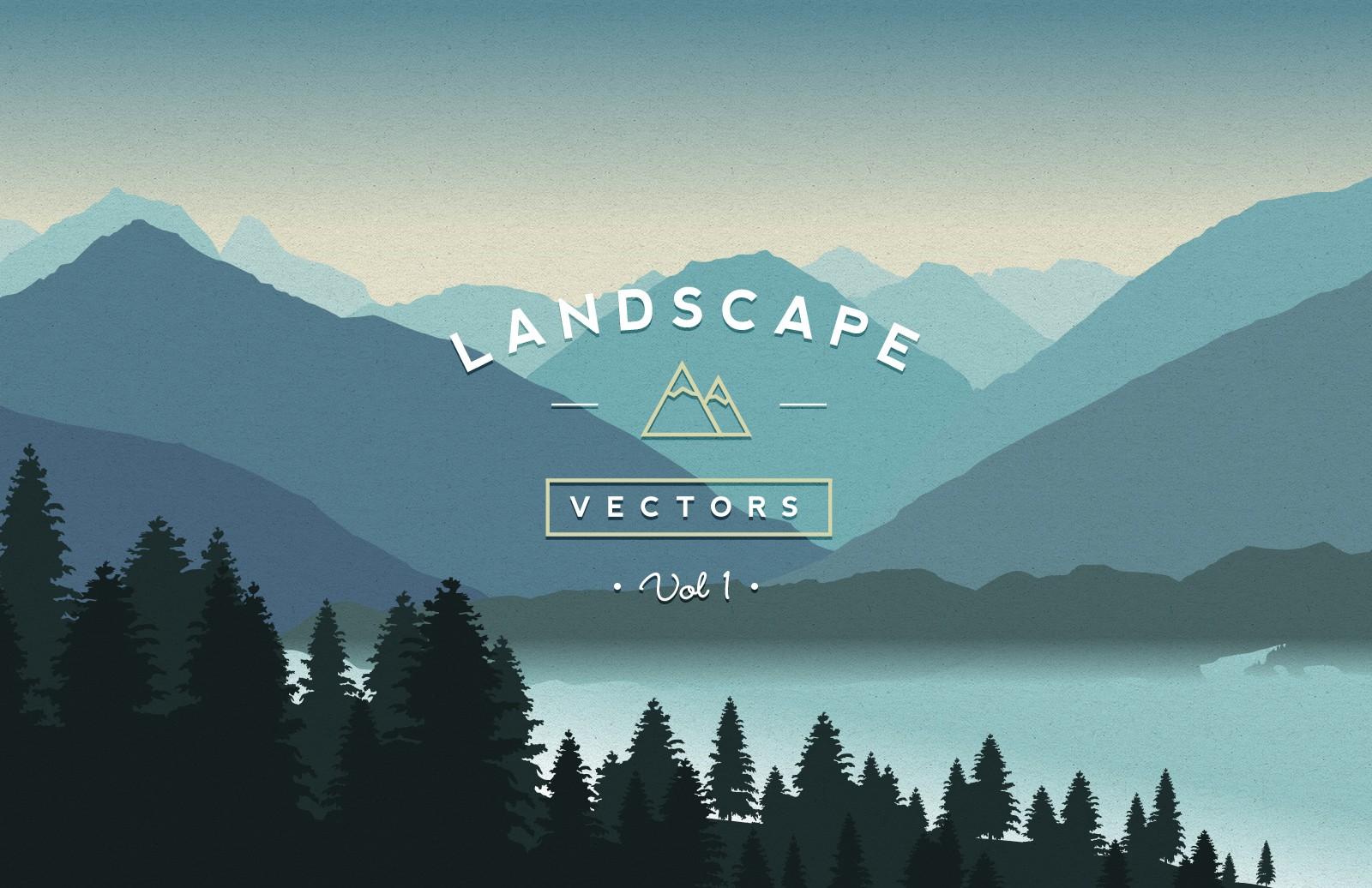 jpg freeuse download Vol . Vector landscapes