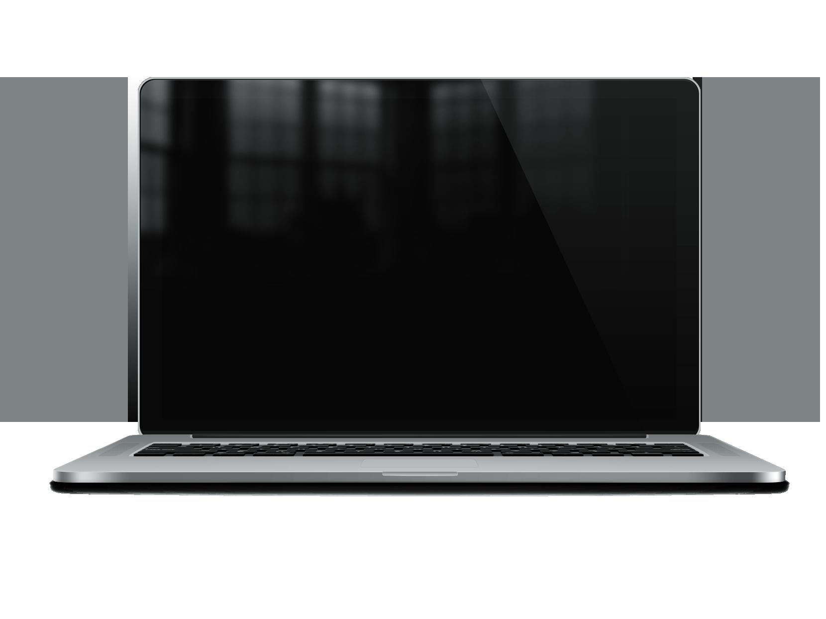free stock Glossy Macbook Pro Retina Mockup PSD