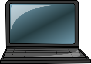 svg transparent Laptop Clip Art at Clker