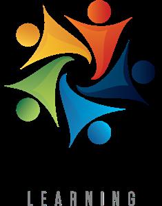 image transparent stock Vector business human. Social media learning logo