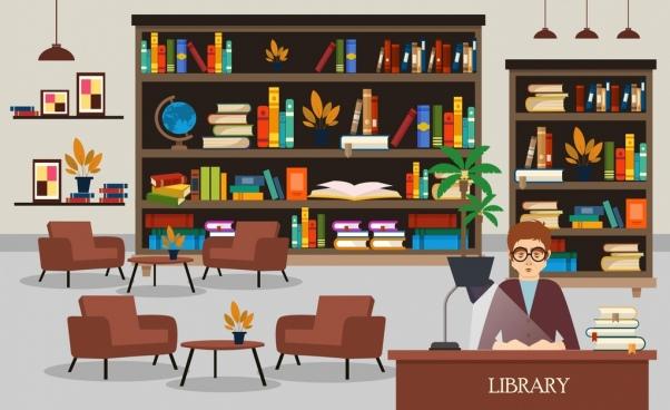 clip transparent stock Bookshelf vector library logo design. Free download for