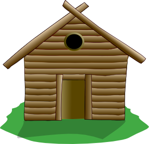 clip art library library Log Cabin Clip Art at Clker