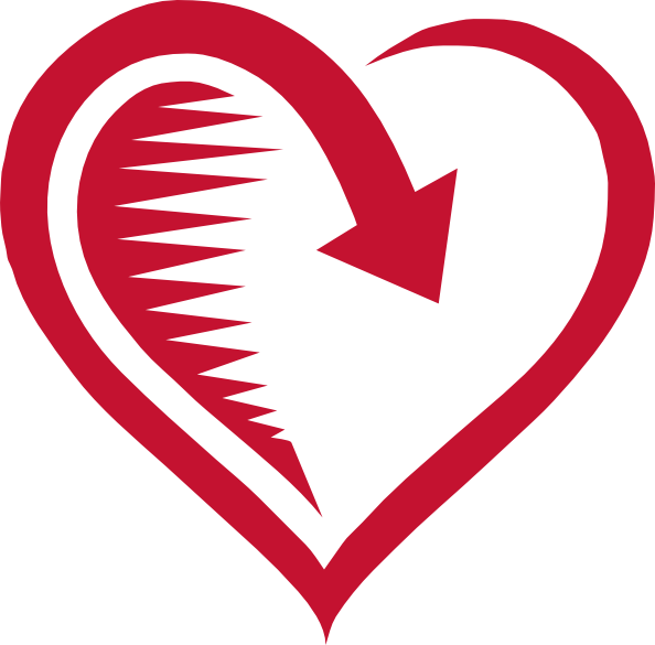 vector black and white library Love Is Returned Clip Art at Clker