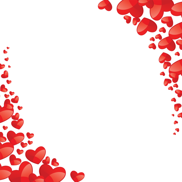 clip art transparent stock Beautiful heart red png. Valentine vector frame