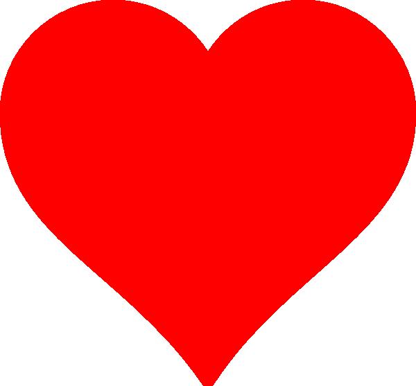 vector royalty free Love Shape Clip Art at Clker