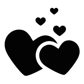 banner freeuse download Love silhouette pictures at. Valentine vector transparent