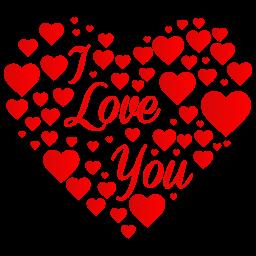 clipart freeuse Heart I Love You Icon