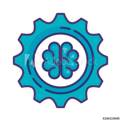clipart free stock Gear with buy this. Vector machinery brain