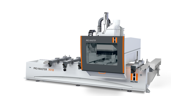 vector transparent stock CNC machine and CNC router for woodworking by HOLZHER