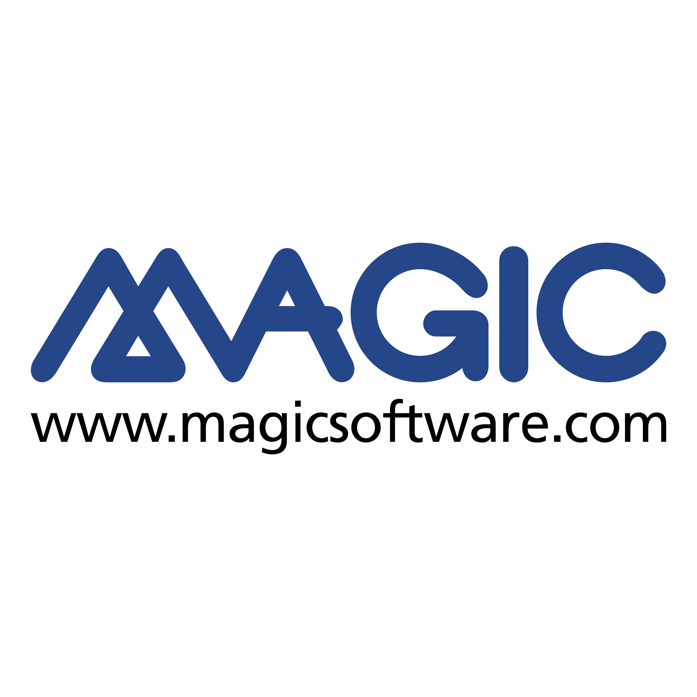 picture black and white Magic Logo PNG Transparent