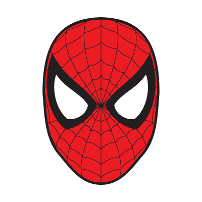 clipart library library Spiderman Mask vector