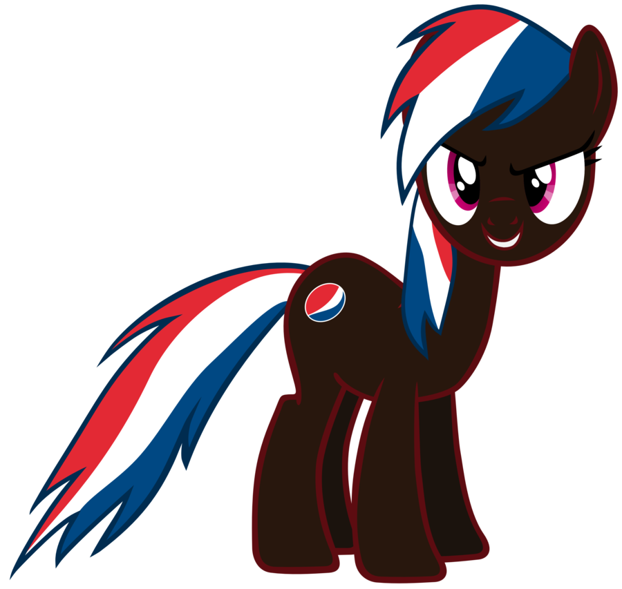 picture black and white stock Pepsi Max Pony by exe