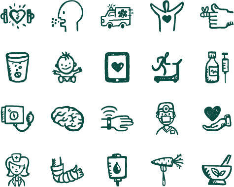 svg black and white Vector doctor healthy. Icons medical health fitness