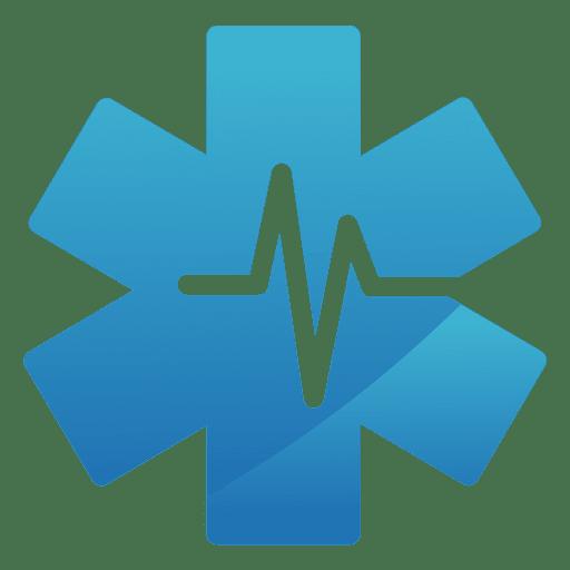 png transparent stock Heartbeat star logo transparent. Vector medical.