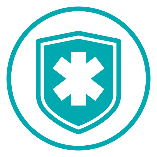 clip Medical cross shield icon