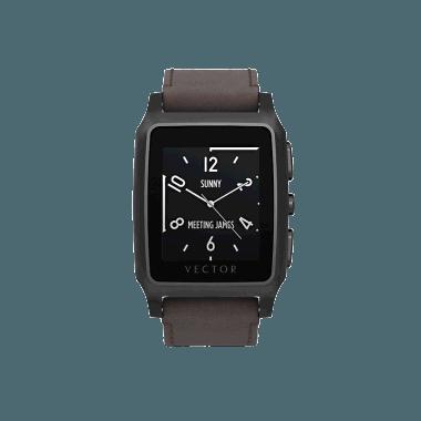 vector transparent stock Deals on Vector Meridian Smart Watch Black