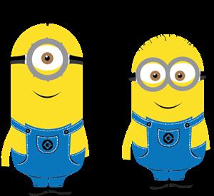 clip freeuse library Minions Logo Vector