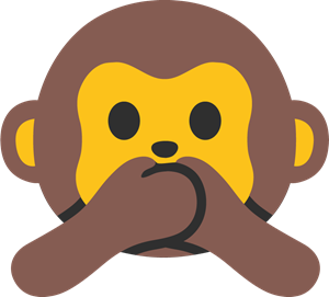 picture library download Vector monkey. Emoji logo vectors free
