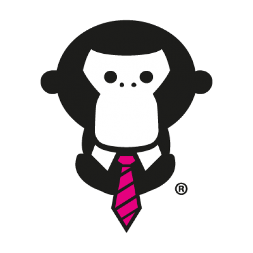 svg black and white stock Free graphics download clipart. Vector monkey.