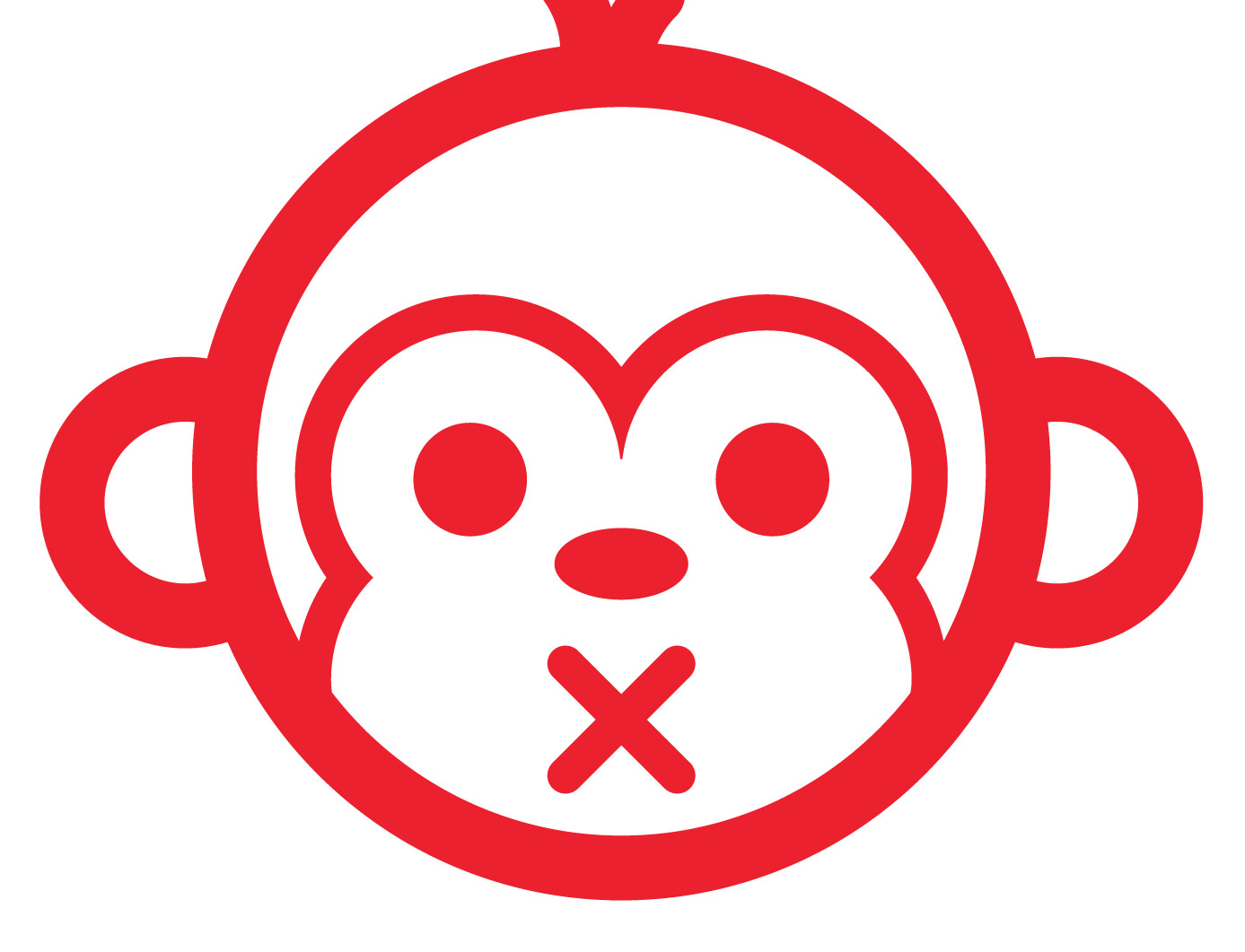 clipart royalty free download Vector monkey. How to create a.