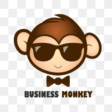 vector black and white stock Vector monkey. Free download monkeys .