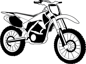 vector black and white download Vector motorcycle. Logo eps free download.