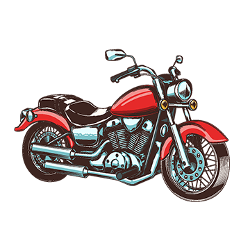 clip art library library Vector motorcycle. Png psd and clipart.